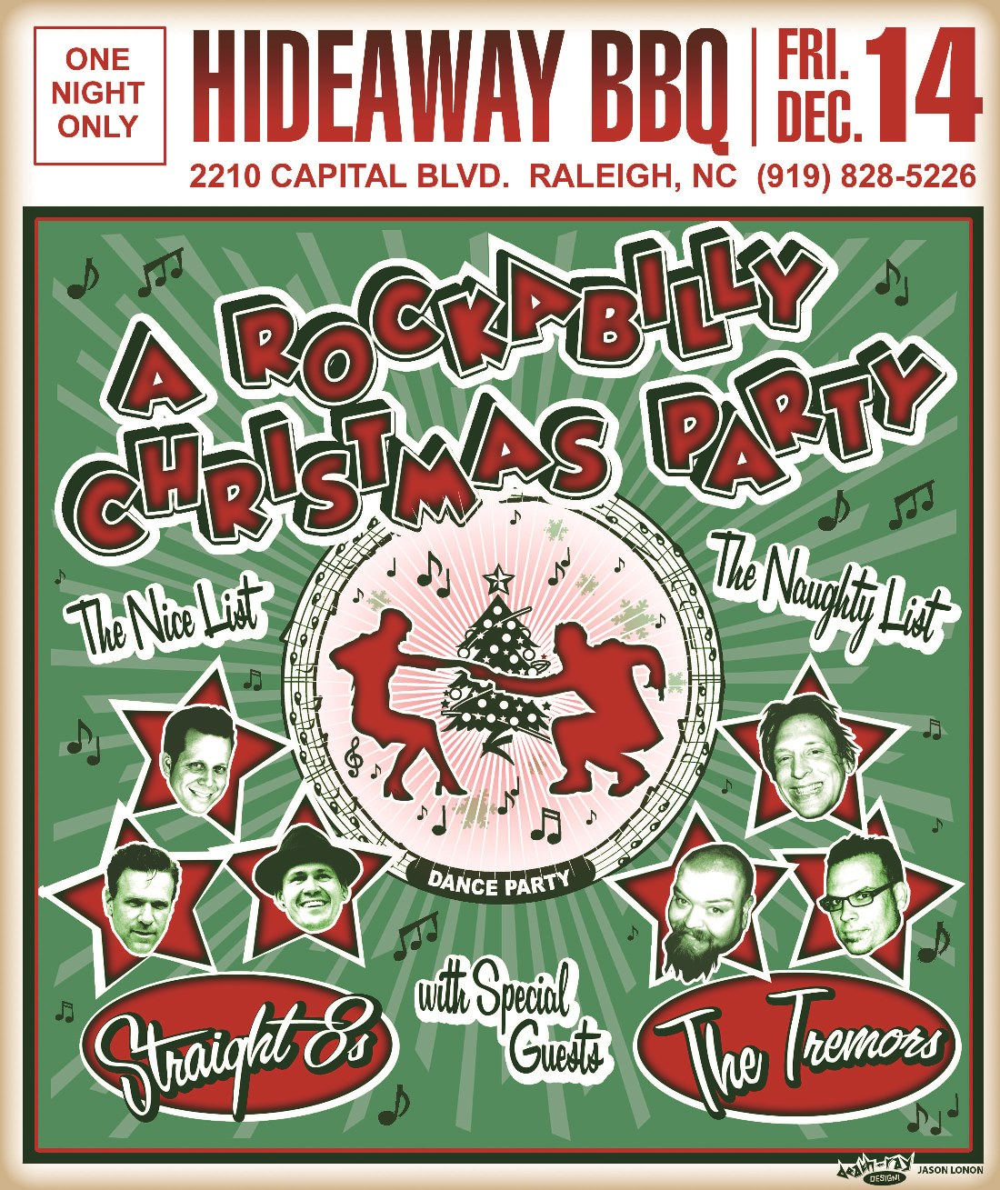 OP20459_5_Rockabilly Christmas Poster