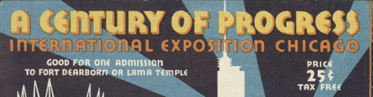 Vacationing Amidst the Weight of the Great Depression: The 1933 Chicago World's Fair