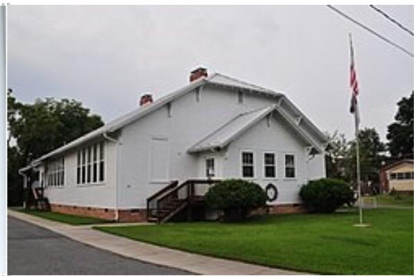 Walnut Cove Rosenwald School as a Senior Citizen Center in 2013 (Stokes County, NC)