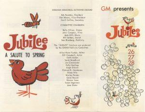 1963 Jubilee program