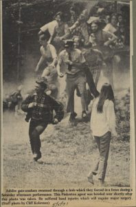 Daily Tar Heel photograph of the 1971 Jubilee