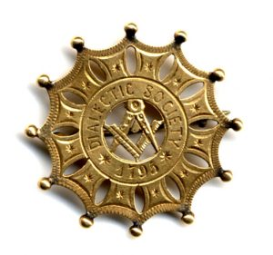 Dialectic Society Pin