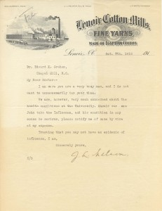 Letter from parent J.L. Nelson