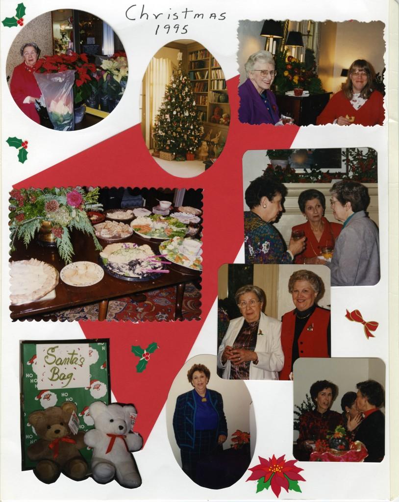 (UNC Hospital Volunteer Association Christmas Party, 1995)