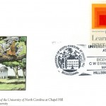 """Postal cachet by Shoe creator Jeff MacNelly on the theme """"Teaching and Learning."""" Issued March 18, 1994."""
