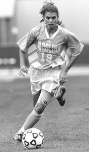 Mia Hamm, from the UNC Department of Athletics Records (#40093)