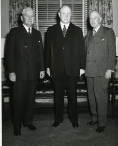 John Motley Morehead, III (center), from theUniversity of North Carolina at Chapel Hill Image Collection (#P0004), North Carolina Collection Photographic Archive.