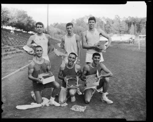 Cake Race winners, 1962. UNC Photo Lab collection (P0031).
