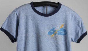UNC Parachute Club t-shirt, ca. 1969-1973.