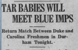 Daily Tar Heel, 11 February 1928.