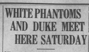 Daily Tar Heel, 5 February 1933.