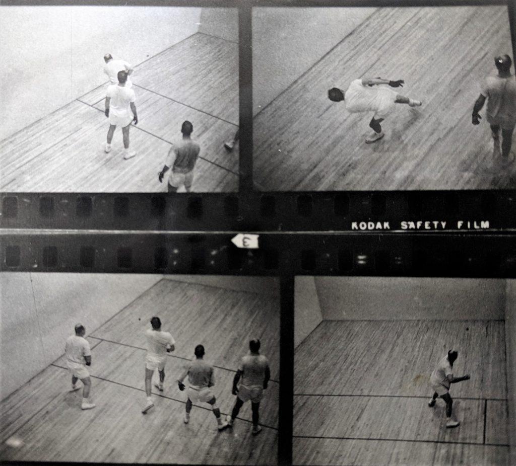 men playing handball