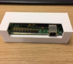 "5.25"" Floppy Controller Case with the controller board inside"